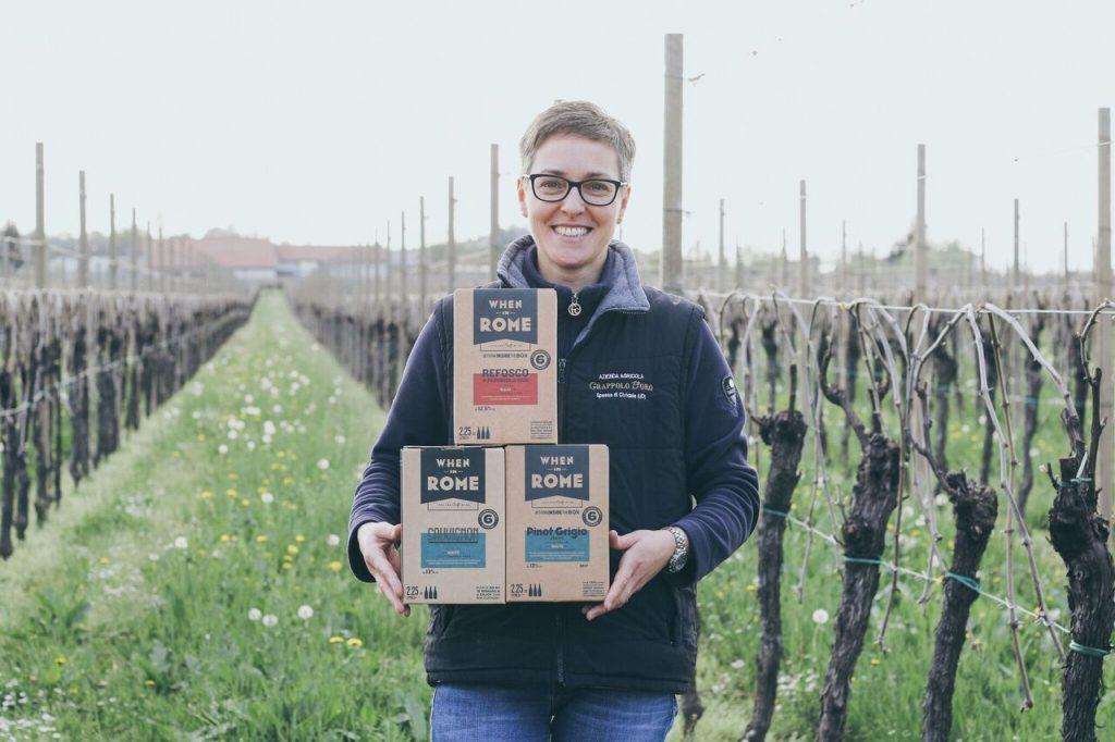 Viinipakkausmateriaalien hiilijalanjälki