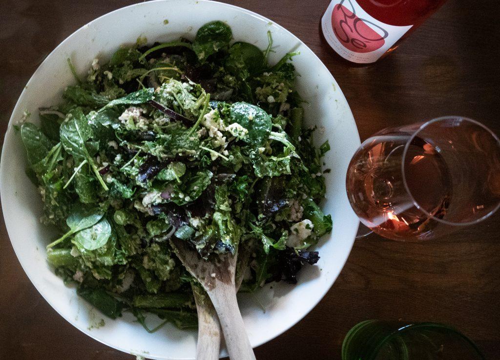 Petskun koronteenikeittiössä: KanaBulgur-salaatti