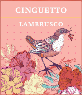 Cinguetto Lambrusco rosé UUTUUS ALKOISSA NYT!